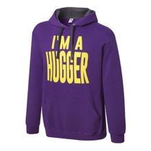 "Bayley ""I'm a Hugger"" Pullover Hoodie Sweatshirt"