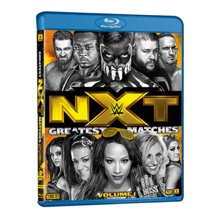 WWE: NXT's Greatest Matches Vol. 1 Blu-Ray
