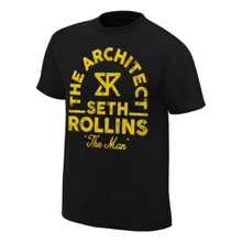 "Seth Rollins ""The Man"" Vintage T-Shirt"