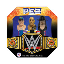 WWE PEZ Candy and Dispenser Collectible Gift Set