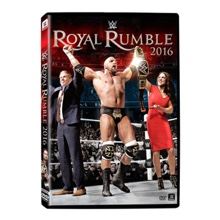 WWE Royal Rumble 2016 DVD