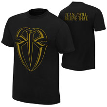 """Roman Reigns """"I Can I Will"""" Gold Edition Youth T-Shirt"""