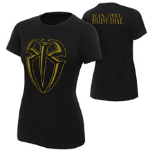 """Roman Reigns """"I Can I Will"""" Gold Edition Women's T-Shirt"""
