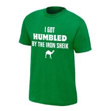 """Iron Sheik """"I Got Humbled"""" Finisher T-Shirt"""