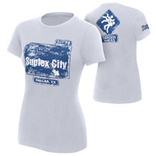 "Brock Lesnar ""Suplex City: Dallas, TX"" Women's WrestleMania 32 Edition T-Shirt"