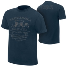 "WrestleMania 32 ""Grandest Stage of Them All"" T-Shirt"