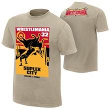 "Brock Lesnar ""Longhorn Suplex"" WrestleMania 32 Edition T-Shirt"