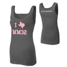 "WrestleMania 32 ""I <3 Texas"" Women's Tank Top"