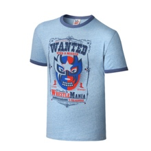 """WrestleMania 32 """"Wanted"""" Vintage T-Shirt"""