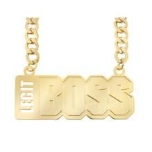 "Sasha Banks ""Legit Boss"" Pendant"