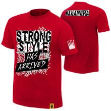 """Shinsuke Nakamura """"Strong Style Has Arrived"""" Authentic T-Shirt"""