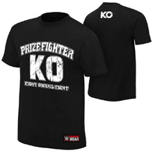 "Kevin Owens ""KO PrizeFighter"" Youth Authentic T-Shirt"