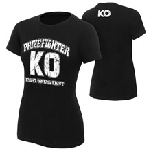 """Kevin Owens """"KO PrizeFighter"""" Women's Authentic T-Shirt"""