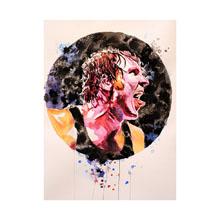 Dean Ambrose WrestleMania 32 11 x 14 Art Print