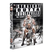 """The Dudley Boyz """"Straight Out of Dudleyville: The Legacy of The Dudley Boyz"""" DVD"""