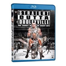 """The Dudley Boyz """"Straight Out of Dudleyville: The Legacy of The Dudley Boyz"""" Blu-Ray"""