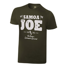 "Samoa Joe ""So-Cal"" Vintage T-Shirt"