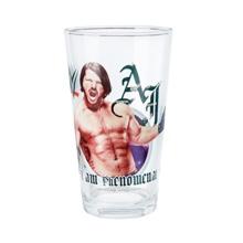 AJ Styles Toon Tumbler Pint Glass