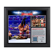 League of Nations WrestleMania 32 15 x 17 Framed Ring Canvas Photo Collage