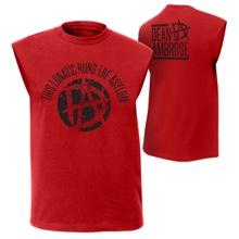 """Dean Ambrose """"This Lunatic Runs the Asylum"""" Muscle T-Shirt"""
