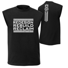 "Seth Rollins ""Redesign, Rebuild, Reclaim"" Muscle T-Shirt"