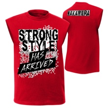 "Shinsuke Nakamura ""Strong Style Has Arrived"" Youth Muscle T-Shirt"
