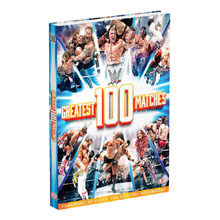 WWE: The 100 Greatest Matches Hardcover Book