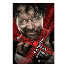 WWE Extreme Rules 2016 Poster