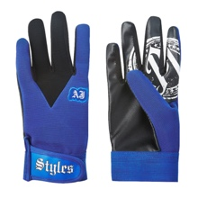 AJ Styles Blue Replica Gloves