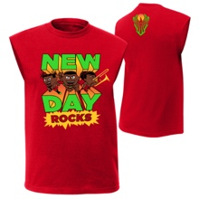 "The New Day ""New Day Rocks"" Youth Muscle T-Shirt"