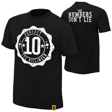"""Tye Dillinger """"The Numbers Don't Lie"""" Authentic T-Shirt"""