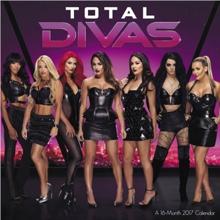 WWE Total Divas Wall Calendar