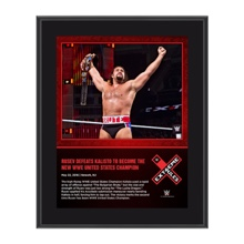 Rusev Extreme Rules 2016 10 x 13 Photo Collage Plaque