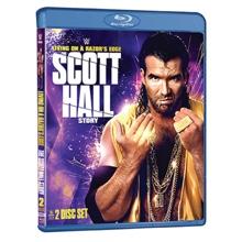 WWE: Living on a Razor's Edge: The Scott Hall Story Blu-Ray