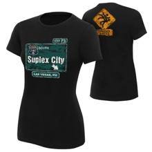 """Brock Lesnar """"Suplex City: Las Vegas"""" Women's Authentic T-Shirt"""