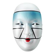 Asuka Blue Plastic Mask