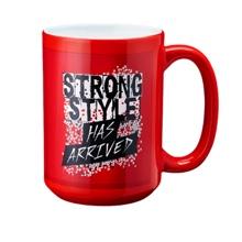 """Shinsuke Nakamura """"Strong Style Has Arrived"""" 15 oz. Mug"""