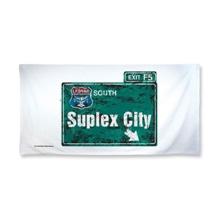 "Brock Lesnar ""Suplex City"" 30 x 60 Beach Towel"
