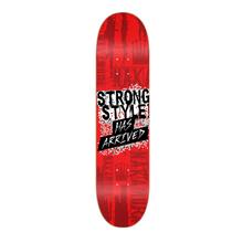 """Shinsuke Nakamura """"Strong Style Has Arrived"""" Skateboard Deck"""