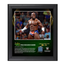 Apollo Crews Money In The Bank 2016 15 x 17 Framed Photo w/ Ring Canvas