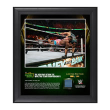 The New Day Money In The Bank 2016 15 x 17 Framed Photo w/ Ring Canvas