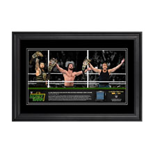 "WWE Money In The Bank 2016 ""The Shield"" 13 x 21 Frame"