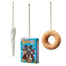 "The New Day ""Booty-O's, Trombone, and Horn"" Ornament Set"