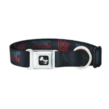 "Dean Ambrose ""This Lunatic Runs The Asylum"" Dog Collar"