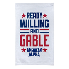 "American Alpha ""Ready, Willing, and Gable"" Rally Towel"