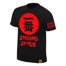 """Shinsuke Nakamura """"Ichiban"""" Authentic T-Shirt"""