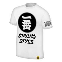 """Shinsuke Nakamura """"Ichiban"""" White Youth Authentic T-Shirt"""