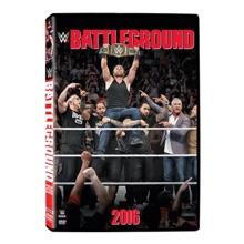 WWE Battleground 2016 DVD