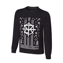 "Seth Rollins ""Redesign, Rebuild, Reclaim"" Ugly Holiday Sweatshirt"