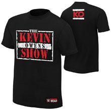 """Kevin Owens """"The Kevin Owens Show"""" Authentic T-Shirt"""